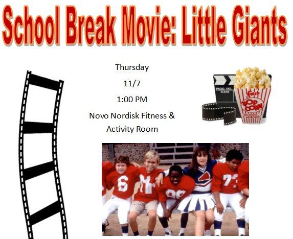 Plainsboro Recreation NJEA School Break Movie Image