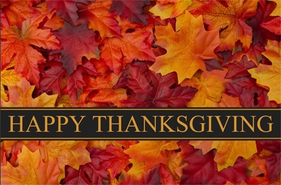 Happy Thanksgiving from the Plainsboro Recreation and Community Services Department