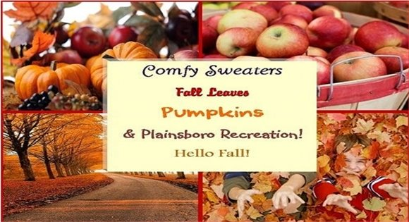 Hello Autumn from Plainsboro Recreation!