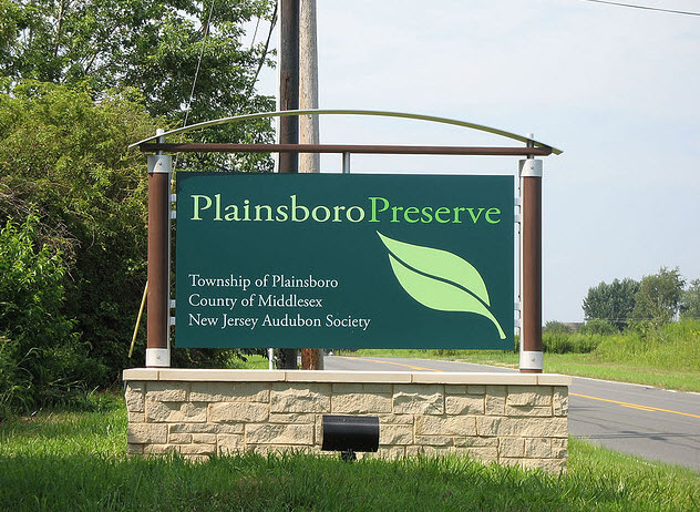 Plainsboro Preserve Sign