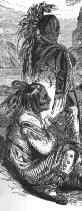 Lenape Indians Drawing