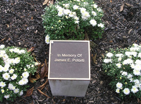 James Potorti Memorial Plaque
