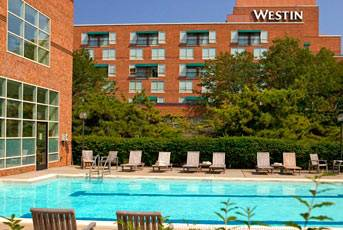 Westin Pool and Building